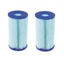 Lot de 2 cartouches de filtration anti-microbiennes Type IV Bestway