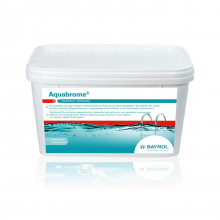 Brome lent pour piscine BAYROL Aquabrome, pastille 5 kg