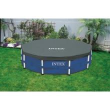 Bâche pour piscine tubulaire ronde Intex 4.57 m