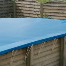 Bâche de protection pour piscine rectangulaire Ubbink