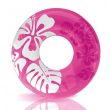 Bouée gonflable géante Intex Aloha Rose Version 2017
