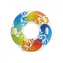 "Bouée geante gonflable INTEX ""Color Whirl"""