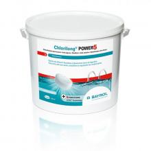 Bayrol Chlorilong POWER 5 - Galets de chlore à dissolution lente - 5 ou 10 kg