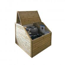 Coffre de filtration en bois Procopi - BWT MyPool