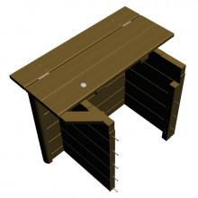 Coffre pour fosse sèche de Piscine Urbaine XL Procopi - BWT myPool