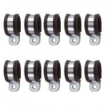 10 colliers de fixation noirs 1/4 pour système haute pression O'Fresh