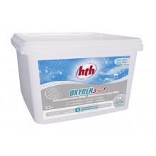 HTH Oxygen 3 en 1 (3,2kg) - Galets multifonction sans chlore 200g