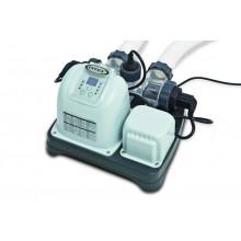 Ecostérilisateur au sel Intex Krystal Clear + OEC 26,5m³