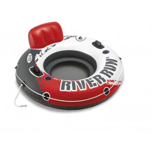 Fauteuil gonflable de piscine INTEX River Run Rouge