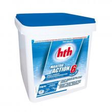 HTH Galets de chlore stabilisé Maxitab Action 6 Spécial Liner - 5 kg