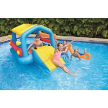 Aire de jeux gonflable piscine enfant b b raviday piscine for Piscine avec toboggan gonflable