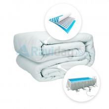 Liner pour piscine tubulaire Intex Ultra Silver 4 x 2 x 1 m-