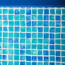 Liner mosaïque pour piscine GRE