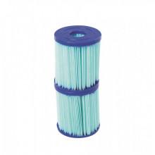 Cartouche filtrante Bestway Anti-microbienne Type I - Lot de 2