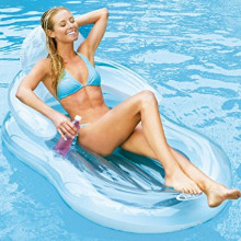 Matelas détente de piscine Intex Glossy