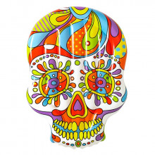 Île gonflable Bestway Crâne Mexicain Fiesta Skull