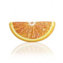 Matelas gonflable Intex Orange en tranche 178 x 85 cm