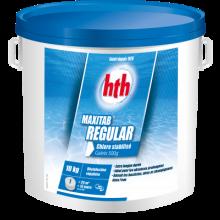 hth Maxitab Regular 10kg - Chlore stabilisé galet 500g