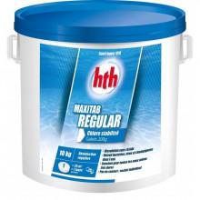 hth Maxitab Regular 10kg - Chlore stabilisé galet 200g