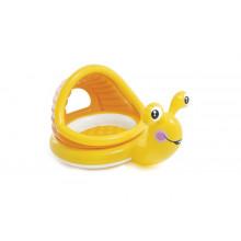 Pataugeoire gonflable 145 x 102 x 74 cm Intex Lazy Snail enfants 1-3 ans