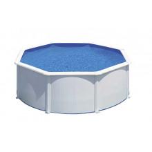 Piscine ronde acier Gré Fidji - avec Filtre à sable 6m3/h