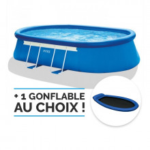 piscine Intex Ellipse 5.49, piscine autoportée