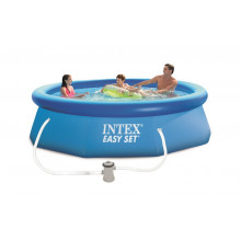 Piscine autoportante Easy Set Intex 3,05 x 0,76 m + épurateur
