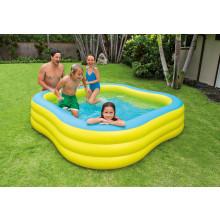 Piscine gonflable carré Intex Wave Swim Center Pool