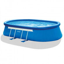 Piscine autoportée Intex Ellipse 5,49 x 3,05 x 1,07 m