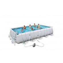 Piscine tubulaire rectangulaire Bestway Power Steel 6,71 x 3,66 x 1,32