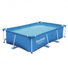 Piscine tubulaire Bestway rectangulaire Steel Pro 2.59 x 1.70 x 0.61 m