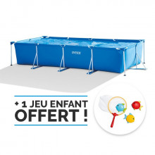 piscine-metalframe-junior-4-50-x-2-20-x-0-84-m-intex + épurateur