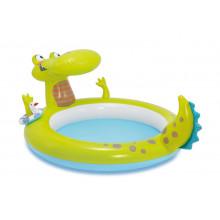 Piscinette avec jet d'eau Alligator Intex - 2 ans +