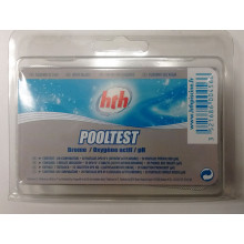 Pooltest Oxygène actif / Brome / pH HTH