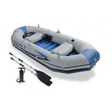 Set Bateau Gonflable 3 places Intex Mariner 3 (rames et gonfleur inclus)