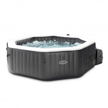 Spa gonflable Intex PureSpa Carbone 4 places Blanc