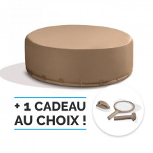 Spa gonflable Intex Pure Spa Bulles 4 places + Couverture Ecoénergétique