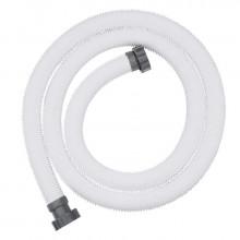 Tuyau pour filtre à sable Bestway Ø 38 mm / longueur 3 m avec connecteurs filetés