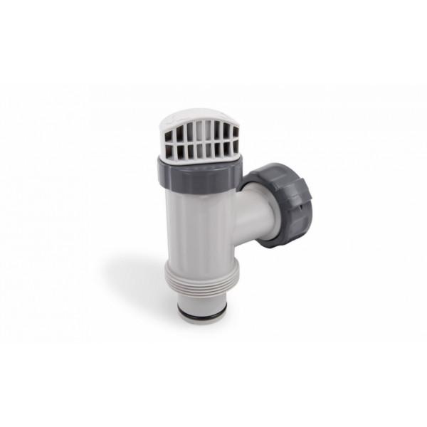 Vanne d 39 arr t 38 mm pour piscine intex for Vanne d arret piscine hors sol 32 38mm
