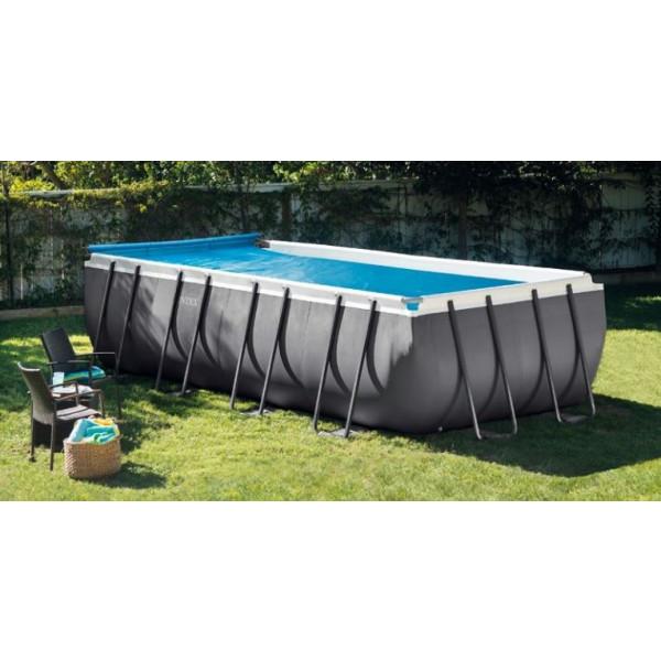 Enrouleur de b che pour piscine hors sol intex - Toboggan pour piscine hors sol intex ...