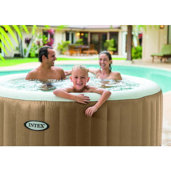 spa gonflable intex pure spa bulles 4 places. Black Bedroom Furniture Sets. Home Design Ideas