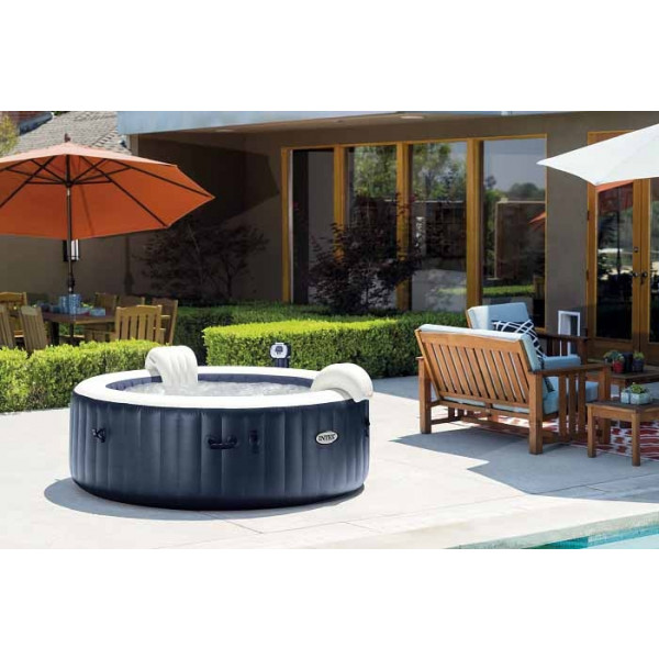 spa gonflable intex pure spa plus 4 places. Black Bedroom Furniture Sets. Home Design Ideas