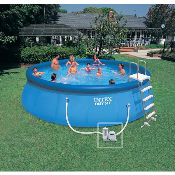 kit piscine autoport e intex easy set 5 49 x 1 22 m. Black Bedroom Furniture Sets. Home Design Ideas