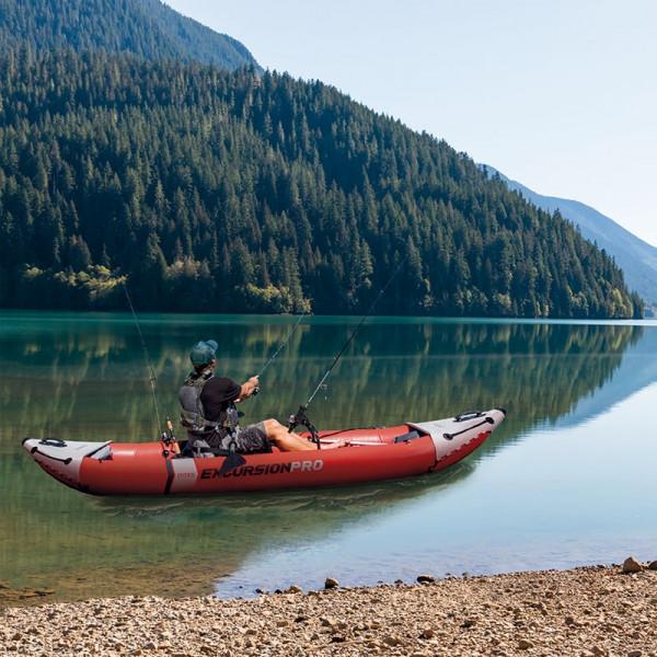 Kayak Gonflable Intex Excursion Pro pour la pêche