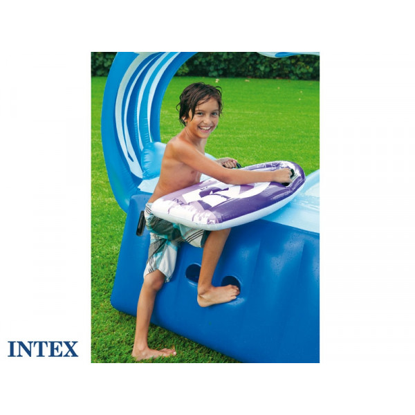 Air de jeu gonflable enfant INTEX Gliss party