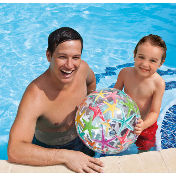 Ballon gonflable de piscine imprimé INTEX