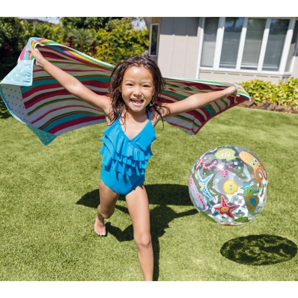 Ballon gonflable de piscine imprimé INTEX