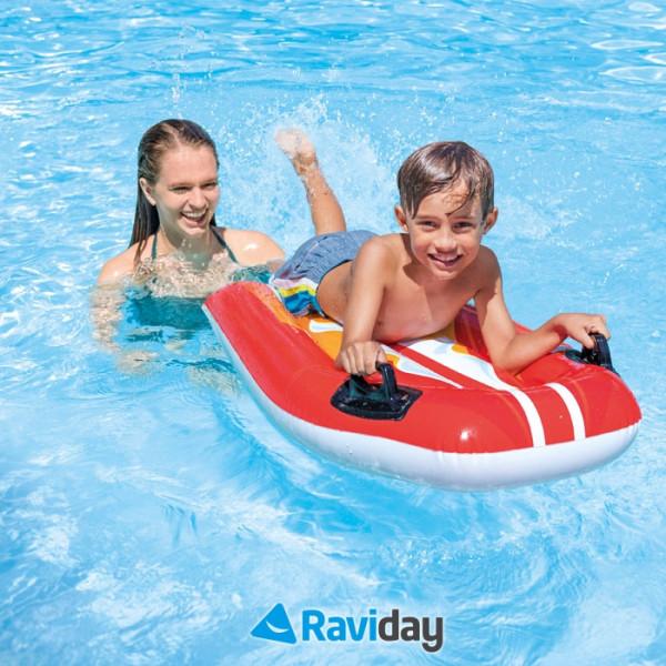 Bodyboard gonflable pour enfants Intex Joy Rider - 6 ans +
