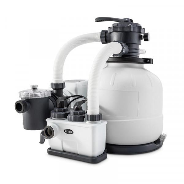 Combiné filtre à sable 8 m³/h et écostérilisateur Intex + OEC 2020