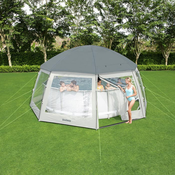 d me de protection pour piscine hors sol ronde bestway. Black Bedroom Furniture Sets. Home Design Ideas